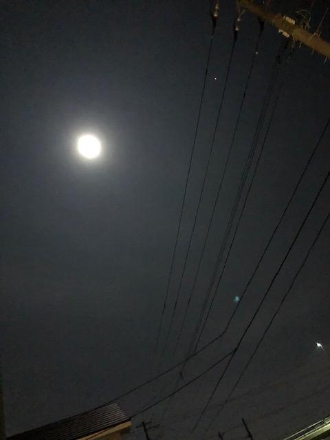 ハロウィン満月ブルームーン